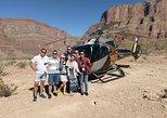 Tour de Las Vegas a Gran Cañón en helicóptero con Champagne,