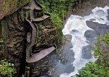 Double-decker Waterfalls Route. Ba�os, ECUADOR