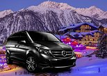 Airport Chambery - private VIP transfer to Courchevel 1850 on Mercedes V-class, ,