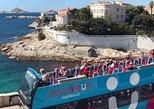 Recorrido turístico en Colorbus con paradas libres por Marsella. Marsella, FRANCIA