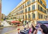 Excursão de ônibus da City Sightseeing em Malaga com embarque no porto. Malaga, Espanha
