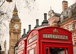 London Self-Guided Tour, Thames Cruise from Paris by Train,