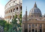 Excursão a pé em Roma com ingressos para acesso sem filas aos Museus do Vaticano e o Coliseu. Roma, Itália