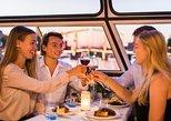 Cruzeiro vespertino pelo canal de Amsterdã com jantar e comentários a bordo. Amsterdam, HOLANDA