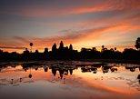Tour en bicicleta de día completo de Siem Reap a Angkor Wat Sunrise Discovery. Siem Reap, CAMBOYA