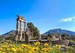 Delfos: recorrido de un día en el ombligo del mundo desde Atenas. Atenas, GRECIA
