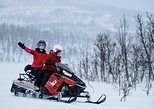 Lapland Lyngen Alps Snowmobile Safari from Tromso with Fjords. Tromso, NORWAY