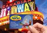 Niagara Falls Clifton Hill Fun Pass incluindo 6 atrações. Cataratas del Niagara, CANADÁ