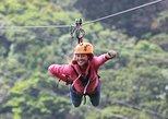 Monteverde 100% Aventura Park: Zipline, Superman, Tarzan Swing. Monteverde, COSTA RICA