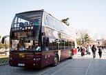 Excursão turística de um dia com várias paradas em ônibus grande por Istambul. Estambul, TURQUIA