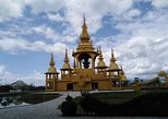 1 Day Trip White Temple - Tea Plantation - Longneck - Cruise to Laos Market. Chiang Rai, Thailand