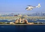Vuelo en helicóptero de Dubai con Palm Jumeirah, Burj Khalifa,