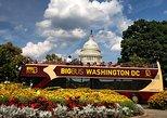 Excursão de ônibus hop-on hop-off em Washington DC, entrada no museu de cera. Washington DC, ESTADOS UNIDOS