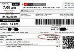 Entrance Ticket To Machu Picchu, Machu Picchu, PERU