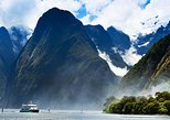 Milford Sound Cruise with Optional Bus Tour. Queenstown, New Zealand