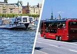 Stockholm Panorama & Under the Bridges of Stockholm. Estocolmo, Sweden
