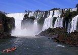 Excursión a las Cataratas del Iguazú: caminata, paseo en jungla en 4x4, paseo en barco en cascada. Foz do Iguacu, BRASIL