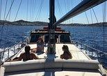 Mykonos Sail Cruise to Delos&Rhenia, BBQ&Drinks, optional Delos Tour & Transfer,