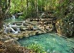 From Kanchanaburi: Erawan Waterfalls and Hellfire Pass. Kanchanaburi, Thailand