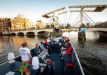 Amsterdam Sightseeing Canal Cruise with Unlimited Drinks,