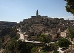 Matera at the sunset. Matera, ITALY