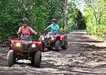 Top Atvs In Cancun (zipline And Cenote Included). Tulum, Mexico