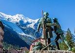 Viagem de dia inteiro de Genebra para Alpes Franceses Chamonix em ônibus aberto. Ginebra, Suíça