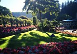 Butchart Gardens Shuttle from Victoria Hotels & Entry ticket. Isla de Vancouver, CANADA