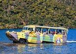 Rotorua Duck Tours, recorrido guiado por la ciudad y los lagos. Rotorua, NUEVA ZELANDIA