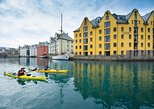 Sea Kayaking In Ålesund. Alesund, NORWAY