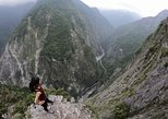 Taroko Gorge Hike: Zhuilu Old Trail from Hualien City. Hualien, TAIWAN