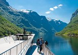 Guided day tour to Flam - incl Premium Nærøyfjord Cruise and Flåm Railway. Bergen, NORWAY