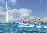 Recorrido en lancha motora de 90 minutos: puerto deportivo de Dubái, Atlantis y Burj Al Arab,