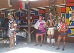 Lesedi cultural village tour. Johannesburgo, South Africa