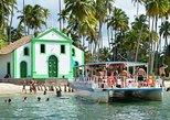 Passeio à Praia dos Carneiros partindo de Recife/Olinda/Jaboatão dos Guararapes,