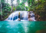 Private Tour to Kanchanaburi Erawan Waterfall and Elephant Care,