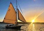 Classic Sailboat Sunset Sail. San Diego, CA, UNITED STATES