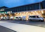 Centro da Cidade de Queenstown para o aeroporto. Queenstown, NOVA ZELÂNDIA