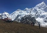 Everest base camp helicopter landing group flight tour with breakfast at Everest. Katmandu, Nepal