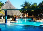 Day at exclusive club Costa del Sol Beach from San Salvador or Airport,