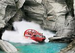 Shotover River Extreme Jet Boat Ride from Queenstown. Queenstown, New Zealand