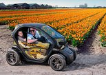 Drive it yourself electric Tulip and Flower Fields GPS audio tour. Alkmaar, HOLLAND