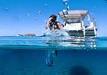 Snorkeling + Paddle Surf Tour, Water Mat, Swimming Beach and Caves in Ibiza, Ibiza, ESPAÑA