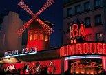 Espectáculo en el Moulin Rouge de París. Paris, FRANCIA