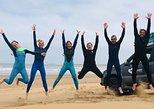 Loving Surf Clase Grupal. Esauira, MARRUECOS