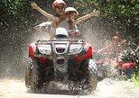 Excursão combinada de quadriciclo e jet ski ou lancha na Riviera Maya. Canc�n, MÉXICO