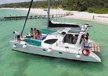 Catamaran Sailing Tour to Passion Island. Cozumel, Mexico
