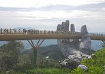 Golden Bridge-Dragon Bridge-Marble Moutain-Monkey Mountain fromHoi An or Da Nang. Hoi An, Vietnam
