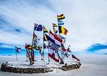 Tour Salar de Uyuni 1 dia / Isla Incahuasi / Cementerio de trenes. Uyuni, BOLIVIA