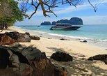 Excursão de luxo de lancha e com paradas à ilha Phi Phi saindo de Phuket. Phuket, Tailândia